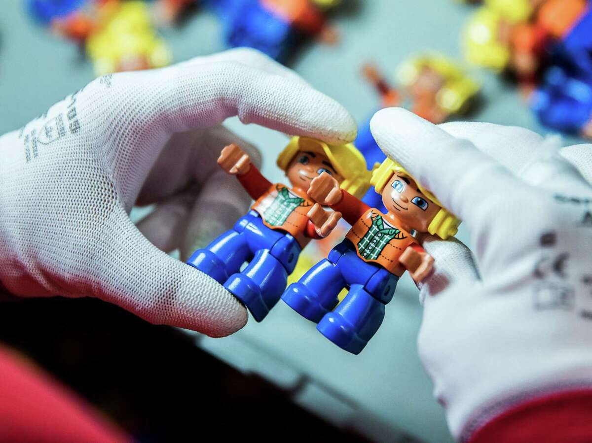 Lego Duplo figurines.
