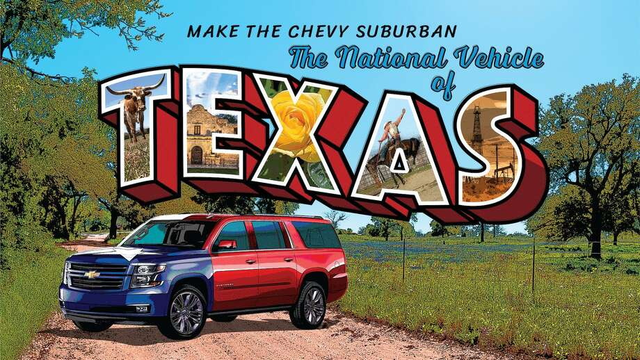 From longhorns to derricks and bluebonnets, this postcard treatment doesn't miss a cue. Photo: Chevrolet