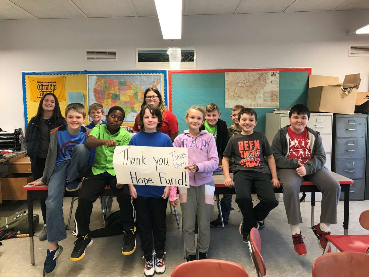 The Hope Fund helps fund after-school activities and clubs at the Mechanicville Middle School. The program recently added a Lego robotics club that it hopes to grow in to a high school team.