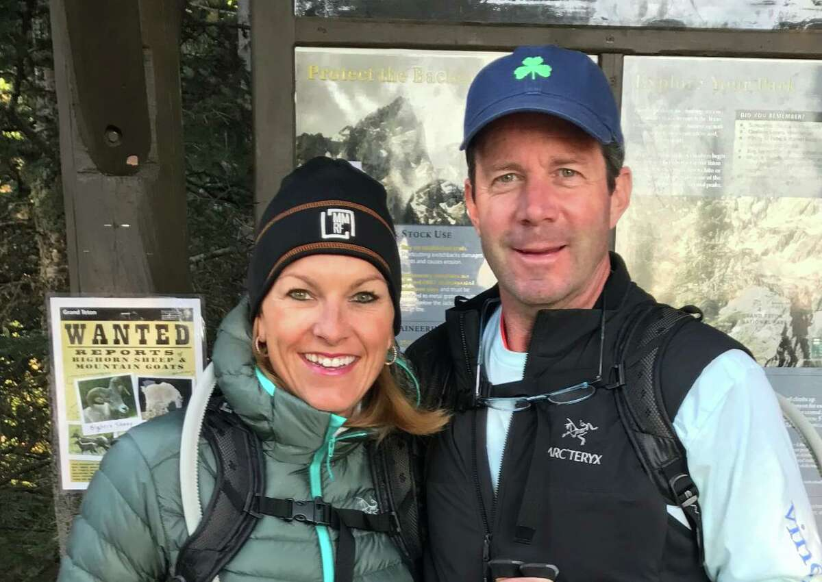 Former Darien residents Annamarie and JP Kealy are on a 10-day trek through Patagonia, a region at the southern end of South America, to raise awareness of multiple myeloma.