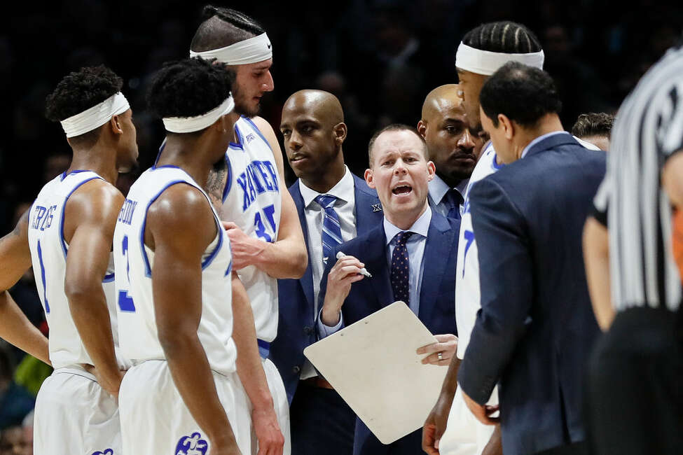 Xavier head coach Travis Steele had four players test the NBA draft waters last spring before deciding to return to school. (Associated Press)