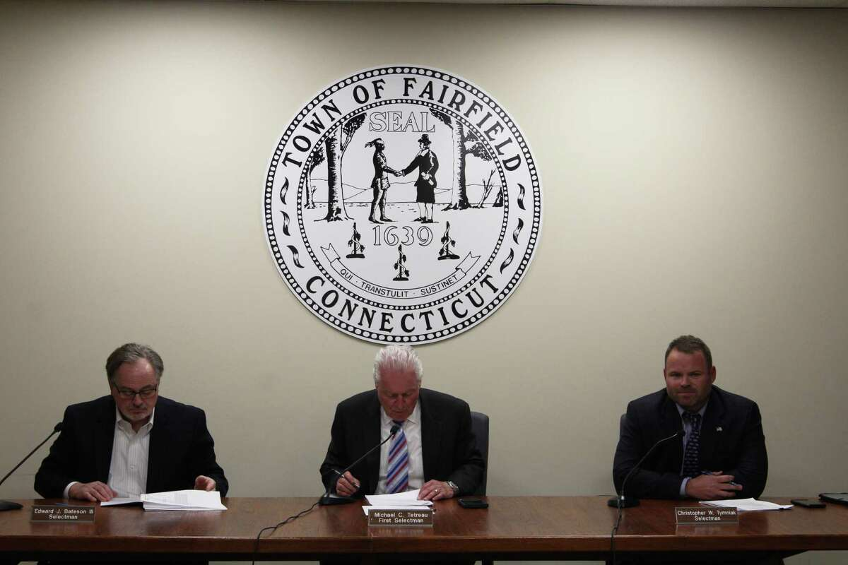 The current Board of Selectmen met for the second-to-last time Wednesday evening.