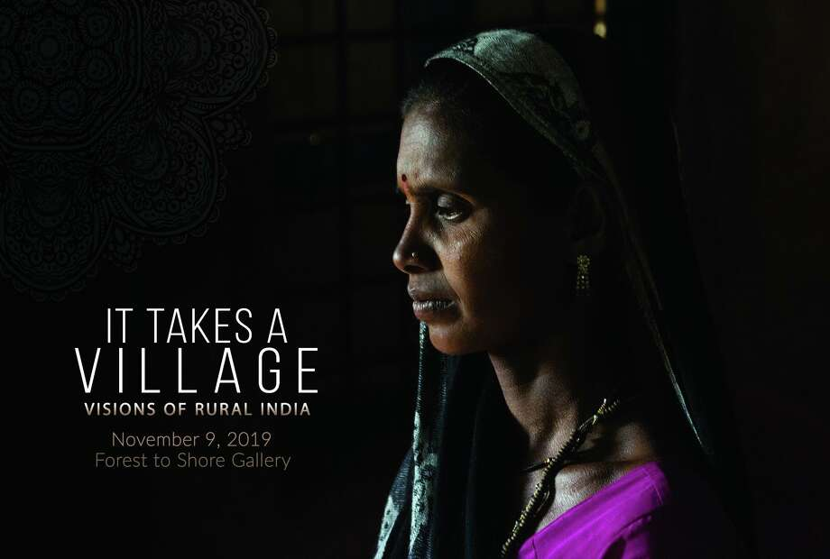 """It Takes A Village"" — a takeover exhibition at FTS Gallery in Stratford giving a rare photographic look into rural Indian villages as they gather to attend free pop-up medical clinics, will take place Saturday, Nov. 9. Photo: 4 Over Inc. / KINOBE / This Smart Template™ is only to be used for submitting artwork to 4 Over Inc. This Smart Template™ may not be used for any o"