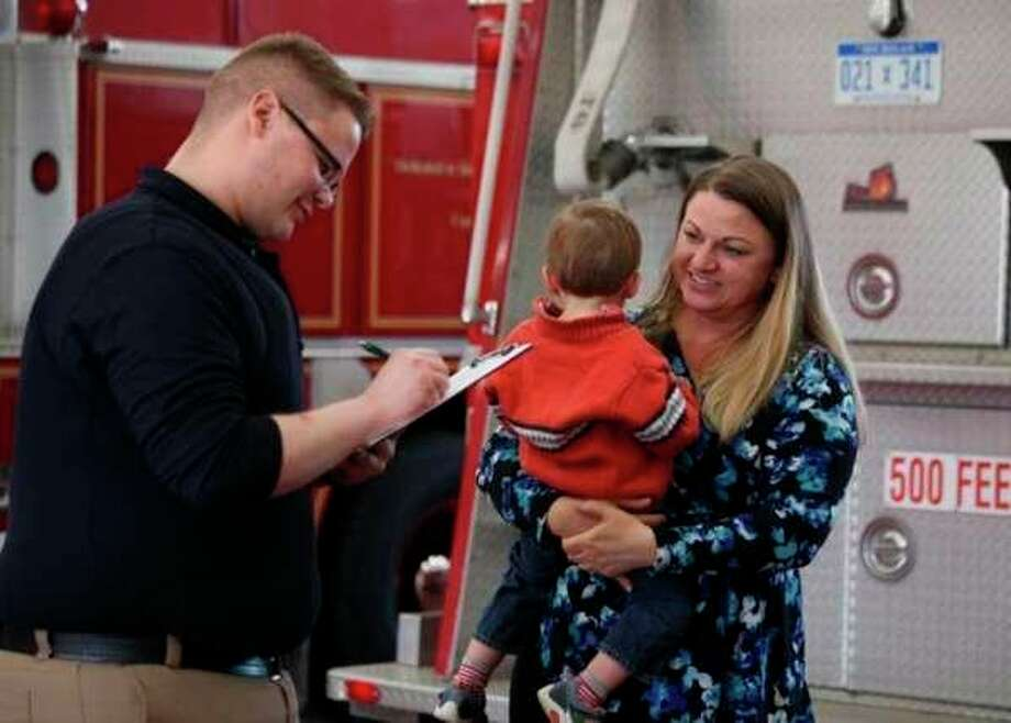 Members of the Mecosta Osceola Early Childhood Wellness Coalition are working together to ensure area children are safe by hosting Safety Day from noon to 4 p.m. on Friday, Nov. 15. Safety Day will take place in both Mecosta and Osceola counties, including at the Big Rapids Department of Public Safety, 435 N. Michigan Ave., Big Rapids; the Evart Fire Department, 109 E. 6th St., Evart; and the Reed City Fire Department, 523 Morse St., Reed City. (Pioneer file photo)