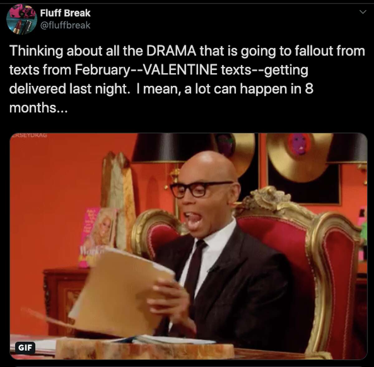 Twitter users complain about the Valentine's Day text glitch.