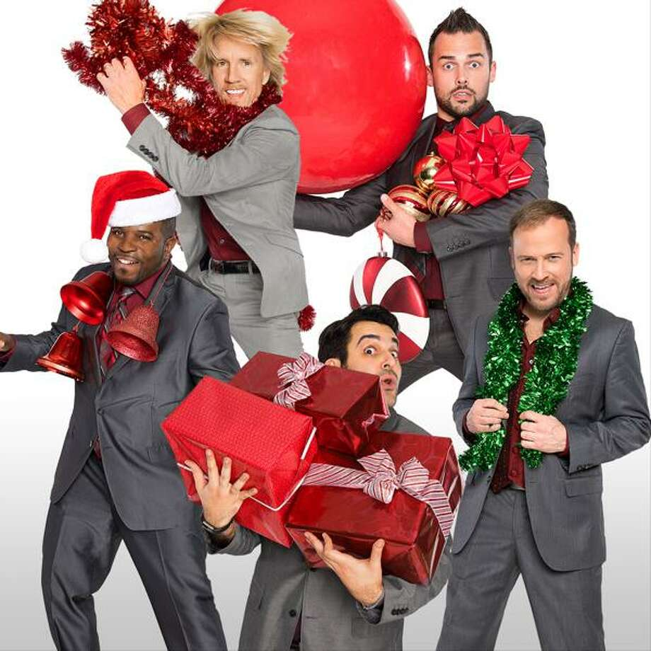 Rockapella returns to The Ridgefield Playhouse on Wednesday, Dec. 11, at 7:30 p.m. Photo: Contributed Photo.