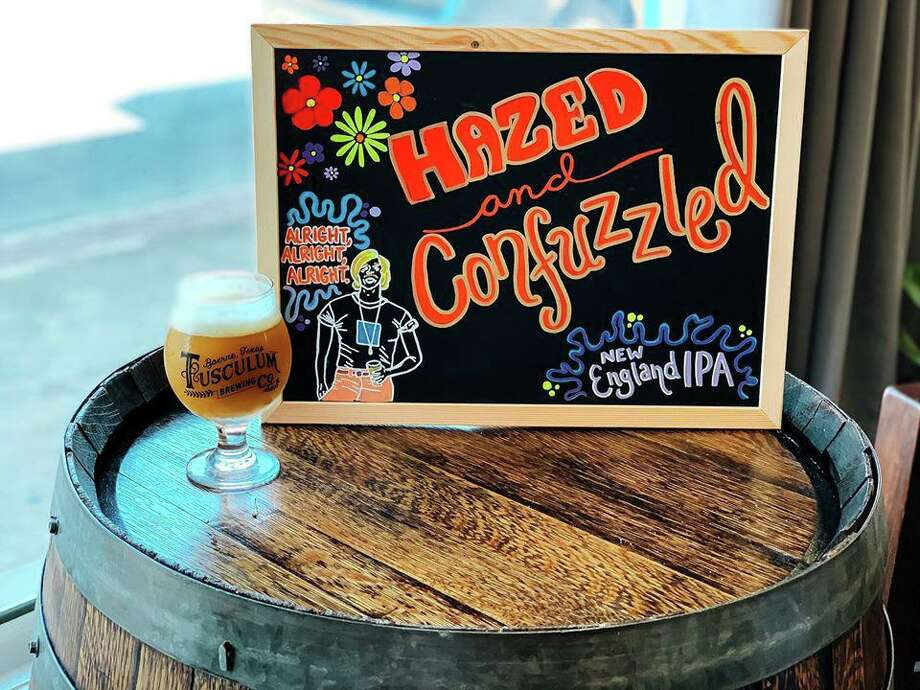 Hazed and Confused is a New England-style IPA at Tusculum Brewing Co. Photo: Tusculum Brewing Co.