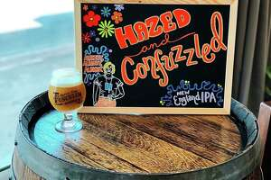 Hazed and Confused is a New England-style IPA at Tusculum Brewing Co.