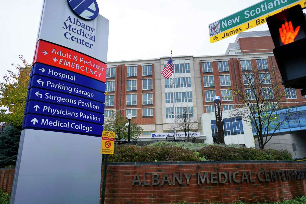 A view of Albany Medical Center on Thursday, Nov. 7, 2019, in Albany, N.Y. (Paul Buckowski/Times Union)