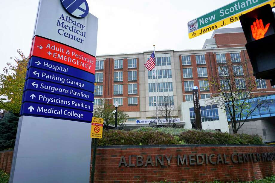 A view of Albany Medical Center on Thursday, Nov. 7, 2019, in Albany, N.Y.  (Paul Buckowski/Times Union) Photo: Paul Buckowski, Albany Times Union / (Paul Buckowski/Times Union)