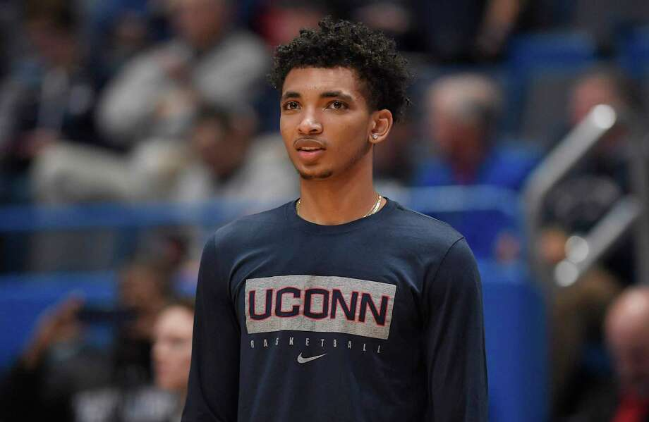 UConn's James Bouknight has been accepted into an accelerated rehabilitation program for charges stemming from a September on-campus vehicular incident. Photo: Jessica Hill / Associated Press / Copyright 2019 The Associated Press. All rights reserved