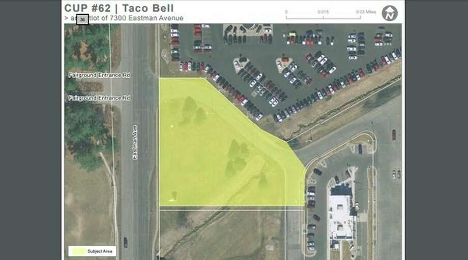 A new Taco Bell is being built at 7800 Eastman Ave. in Midland. (Photo provided)