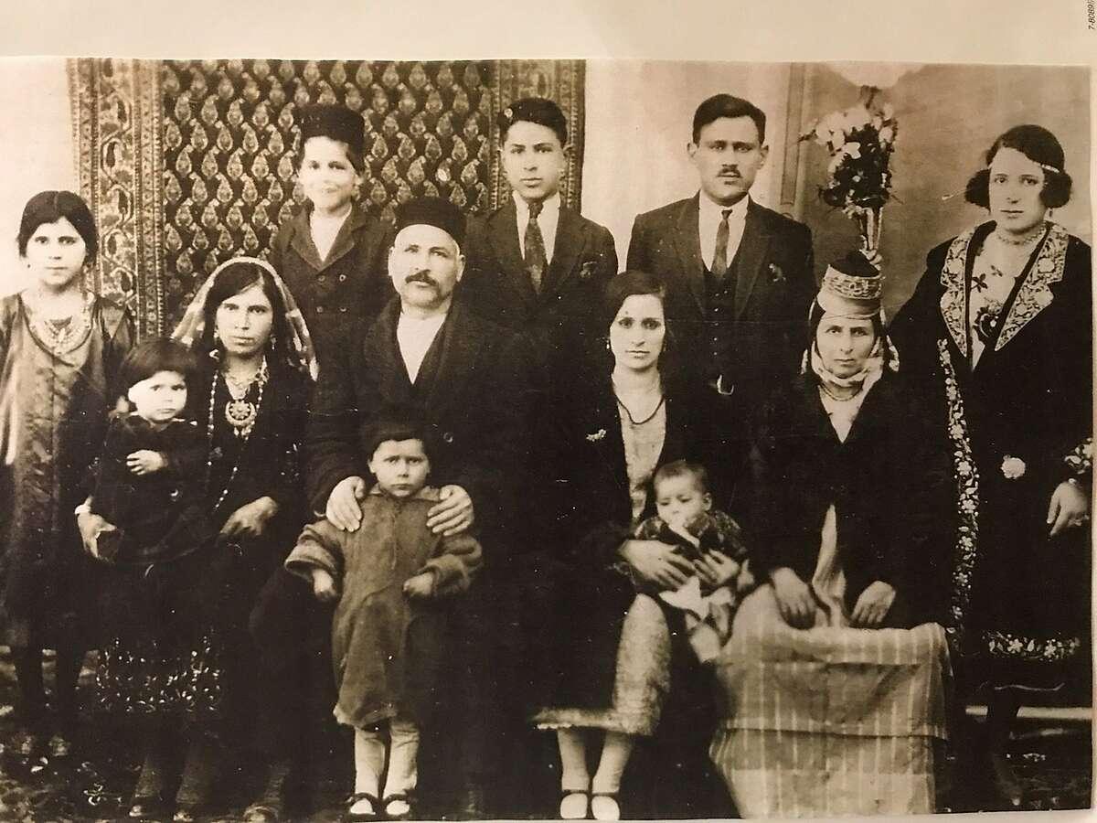 A family photo of Talia Green's ancestors in Iran, circa 1930s.