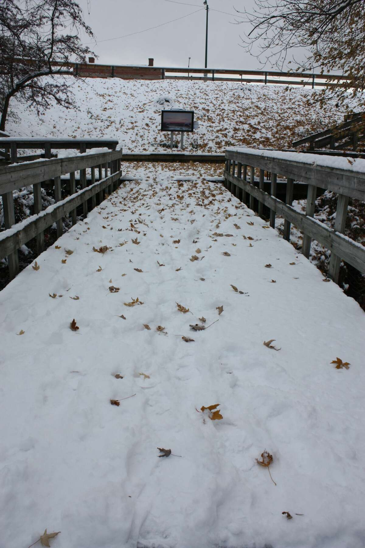 A snowstorm in the Big Rapids on Wednesday left the area looking like what some may consider a