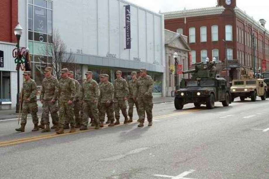 Featured is a scene from last year's parade. (Pioneer file photo)