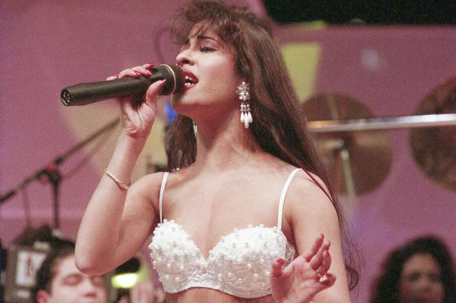 YOSA's next Classic Albums Live concert will be devoted to the music of Tejano superstar Selena, seen here performing at the Houston Livestock Show and Rodeo in 1994. Photo: Houston Chronicle File Photo / © Houston Chronicle