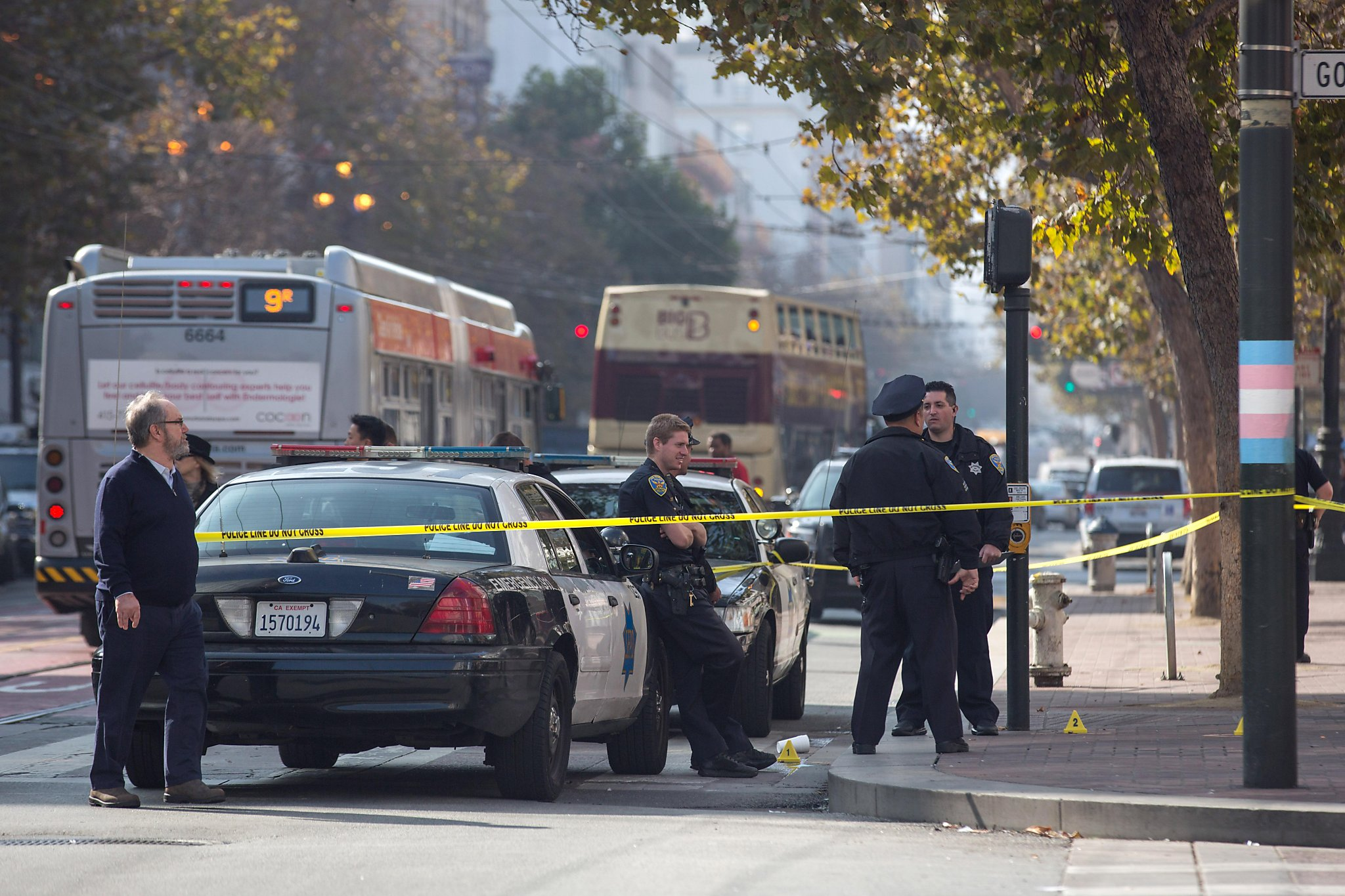 Man shot in broad daylight on SF's Market Street, witnesses say