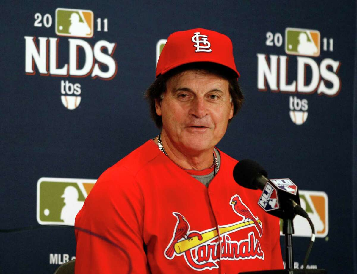 Tony La Russa last managed in St. Louis in 2011. He has been given permission to the Angels to interview for the White Sox managing job.