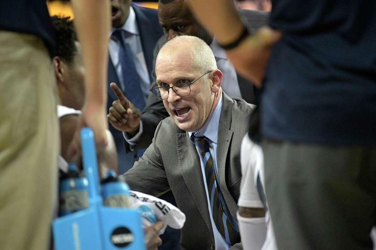 Connecticut head coach Dan Hurley