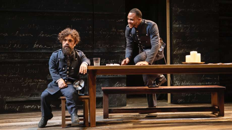With: Peter Dinklage, Blake Jenner, Jasmine Cephas Jones, Ritchie Coster, Josh A. Dawson, Grace McLean, Hillary Fisher; Christopher Gurr, Nehal Joshi, Erika Olson, Scott Stangland.Running time: 2 hours 5 minutes Photo: Monique Carboni