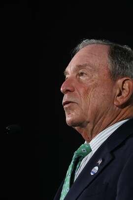 Former New York Mayor Michael Bloomberg.