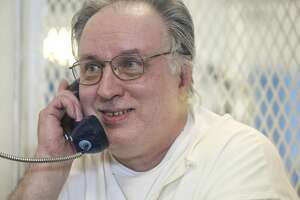 """Patrick Murphy talks to a Houston Chronicle reporter at the Polunsky Unit on Wednesday, Oct. 23, 2019, in Livingston. He is on death row for his part in the murder of Irving police officer Aubrey Hawkins, who was killed while Murphy and six other men, known as the """"Texas 7,"""" robbed an Oshman's store on Dec. 24, 2000. The murder occurred during a crime spree after the men had escaped from the Connally Unit southeast of San Antonio. Four of the seven men have since been executed, and one killed himself to avoid capture. Murphy has since converted to Buddhism, and he won a last-minute stay of execution from the U.S. Supreme Court based on his request to have a Buddhist spiritual advisor with him during the execution."""