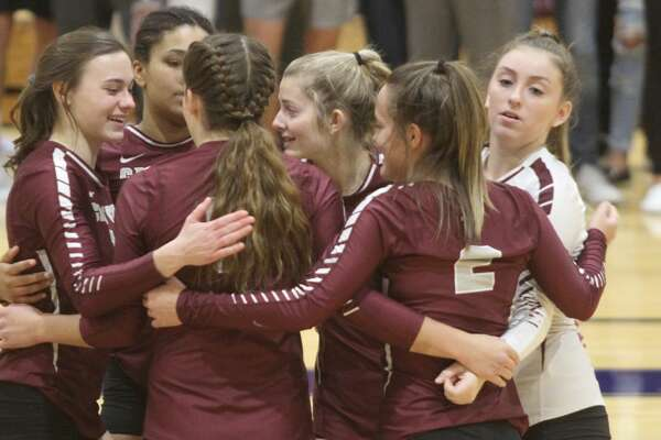The USA Patriots claimed the District championship with a sweep over Cass City on Thursday, Nov. 7.