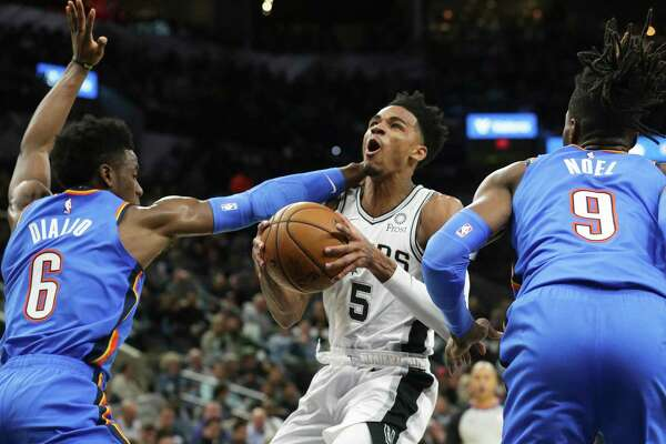 Dejounte Murray likely would have had his first career triple-double if not for a minutes restriction.