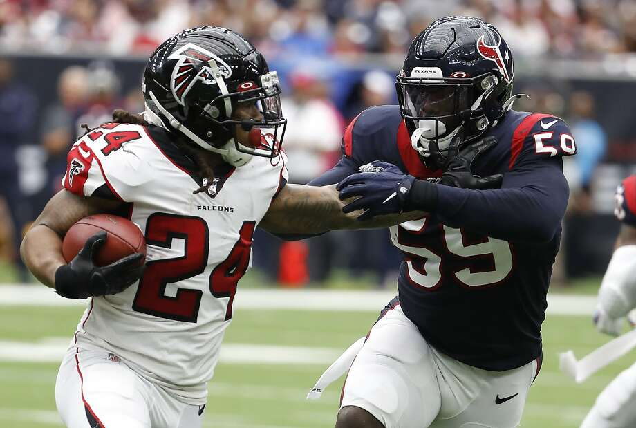 The Seattle Seahawks have offered free-agent running back Devonta Freeman a one-year deal worth up to $4 million, according to a report Wednesday from the NFL Network. Photo: Brett Coomer, Staff Photographer