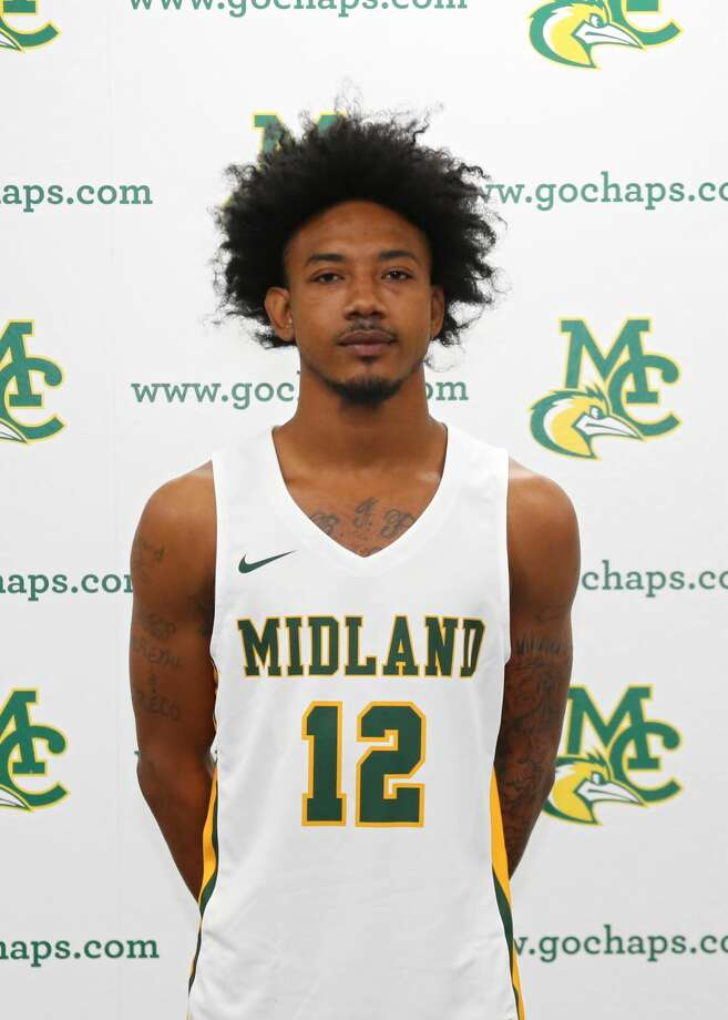 Midland College men's basketball player Glency Lopez Photo: Midland College Athletics