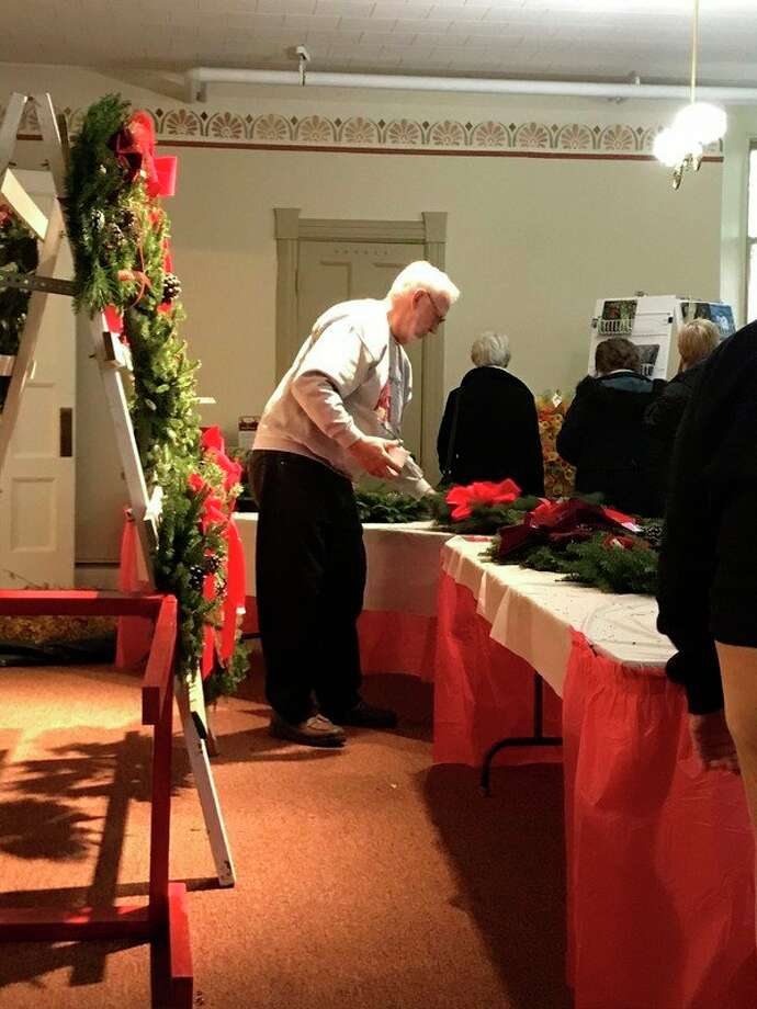 The annual Heritage Bazaar, hosted by Manistee First Congregational Church returns Saturday, Nov. 9. The event features a number of crafts and Christmas ornaments for sale, including decorative wreaths.  (Courtesy photo)