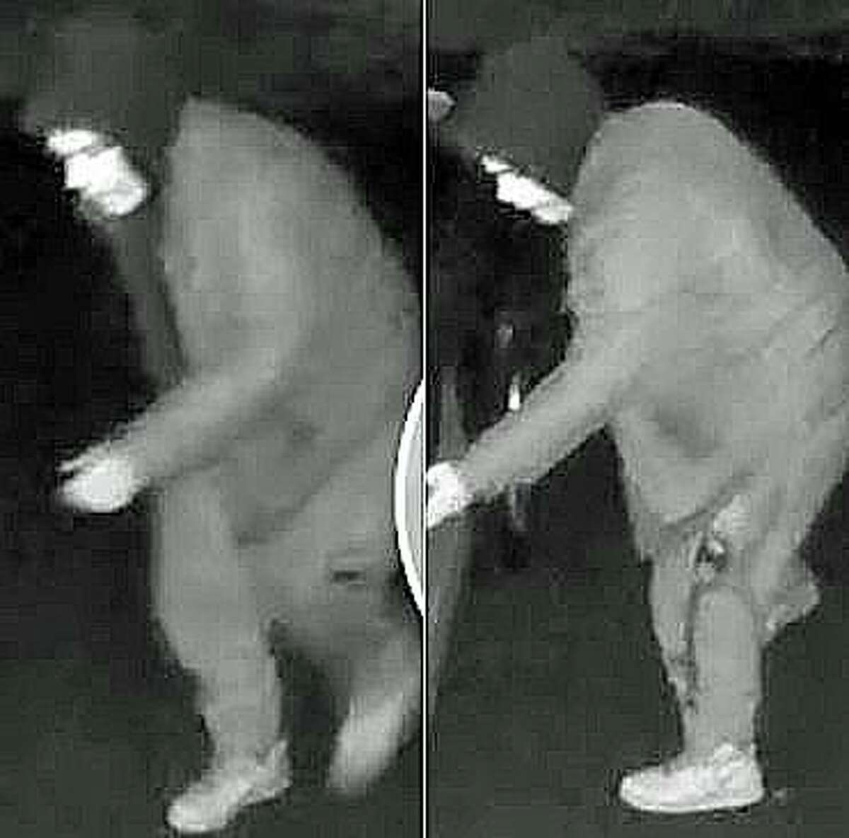 Police in two Connecticut towns are looking for one or more suspects who wore ghoulish masks while they checked out unlocked vehicles in the dead of night.