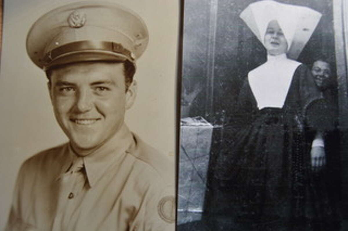 2. My father, Edward Kindlon, was a decorated World War II infantry sergeant. Home from the war, he met and married my mother, Rosemary Bartlett, who'd just left the convent after five years as a Sister of Charity.