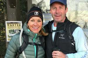 Annamarie and J.P. Kealy trained in the U.S. for their trip to Patagonia.