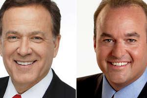 Randy Beamer and Don Harris celebrate 30 years of service at News 4 San Antonio