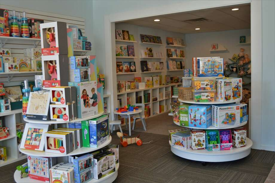 Joyful Tantrum, a new toy store, opened on Friday, Nov. 8 in downtown Midland, offering a kid-friendly place to shop for books, games, toys and gifts. It opened as an addition to Serendipity Road, which is next door. Both stores are owned by Julia Keppler. (Ashley Schafer/Ashley.Schafer@hearstnp.com) Photo: Ashley Schafer
