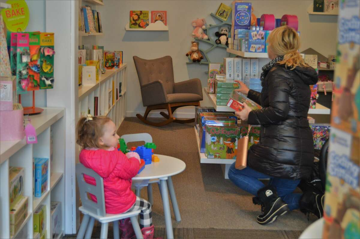 Joyful Tantrum, a new toy store, opened on Friday, Nov. 8 in downtown Midland, offering a kid-friendly place to shop for books, games, toys and gifts. It opened as an addition to Serendipity Road, which is next door. Both stores are owned by Julia Keppler. (Ashley Schafer/Ashley.Schafer@hearstnp.com)