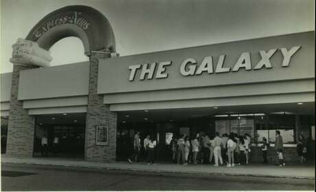 Santikos Entertainment will re-open its Northeast Side theater (Rialto) as The Galaxy Theater next week.This a photo of the theater back in the 1980s. Photo: Santikos Entertainment