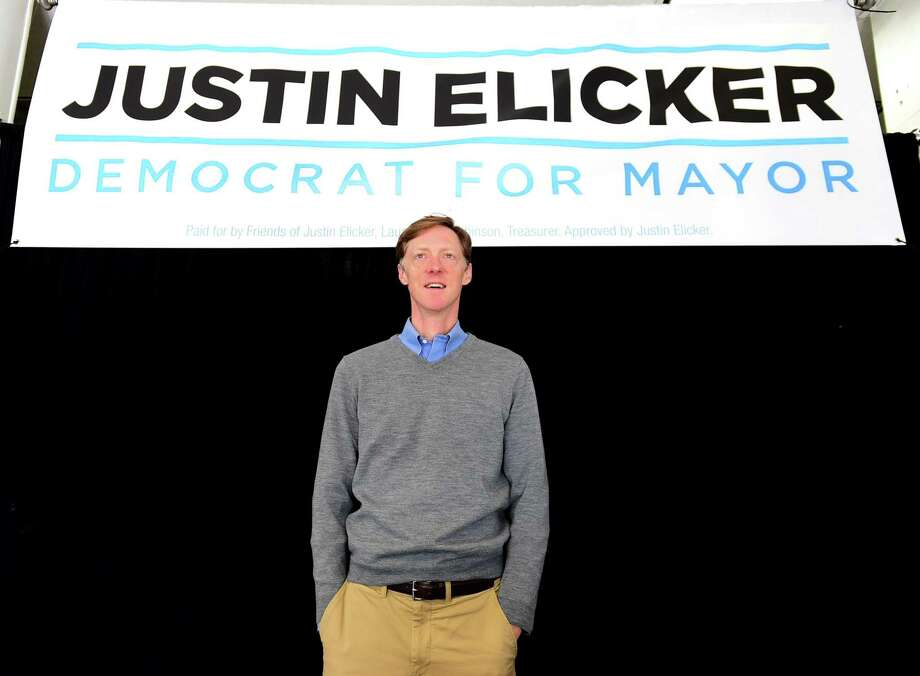 New Haven, Connecticut - Wednesday, November 6, 2019: New Haven Mayor-Elect Justin Elicker Wednesday afternoon in his campaign headquarters the day after defeating incumbent Mayor Toni Harp. Photo: Peter Hvizdak / Hearst Connecticut Media / New Haven Register