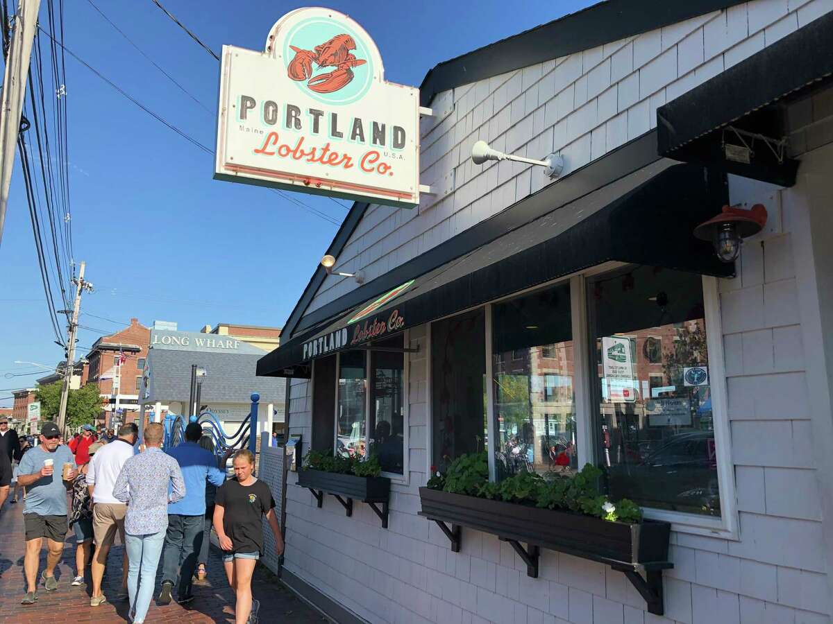 One can't visit Portland without having lobster for lunch.