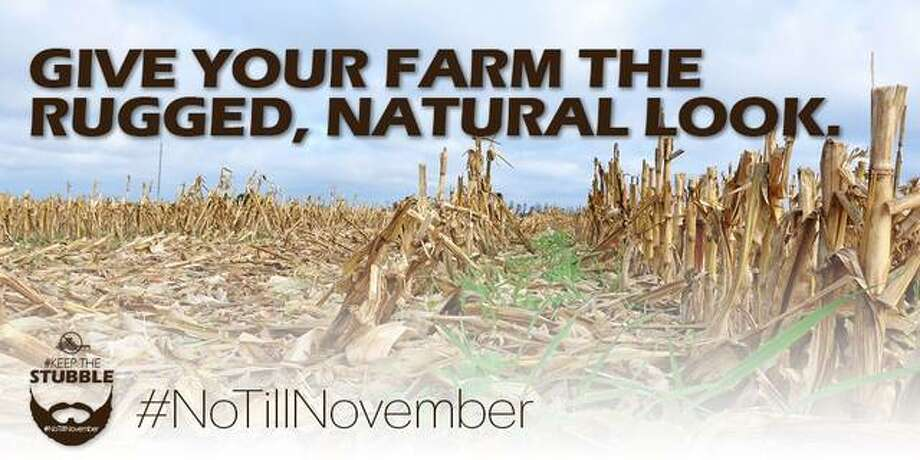 """The Natural Resources Conservation Service is encouraging Illinois farmers to """"keep the stubble"""" on their harvested crop fields and improve soil health during No-Till November."""
