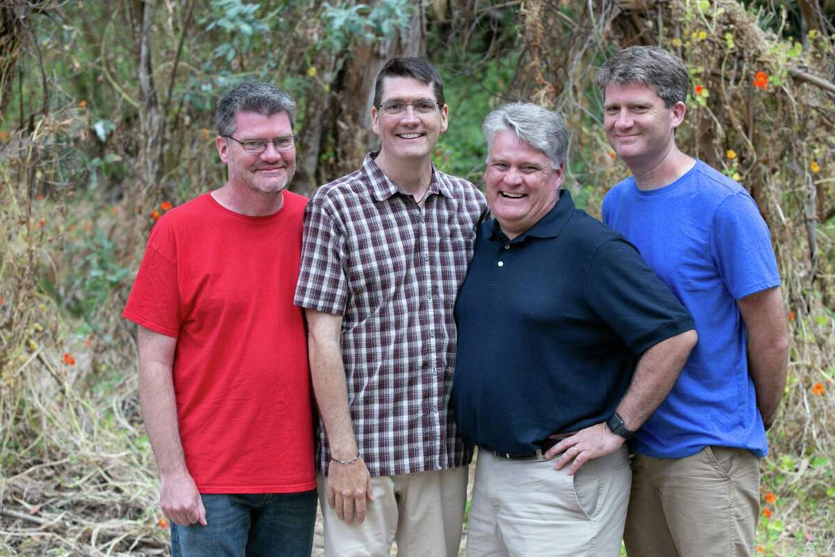 The Bailey brothers, from left, Dave, Owen, Marty and Hugh.