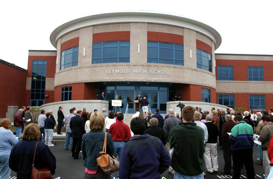 Seymour High School is seen in this 2005 file photo. Photo: Mara Lavitt / New Haven Register