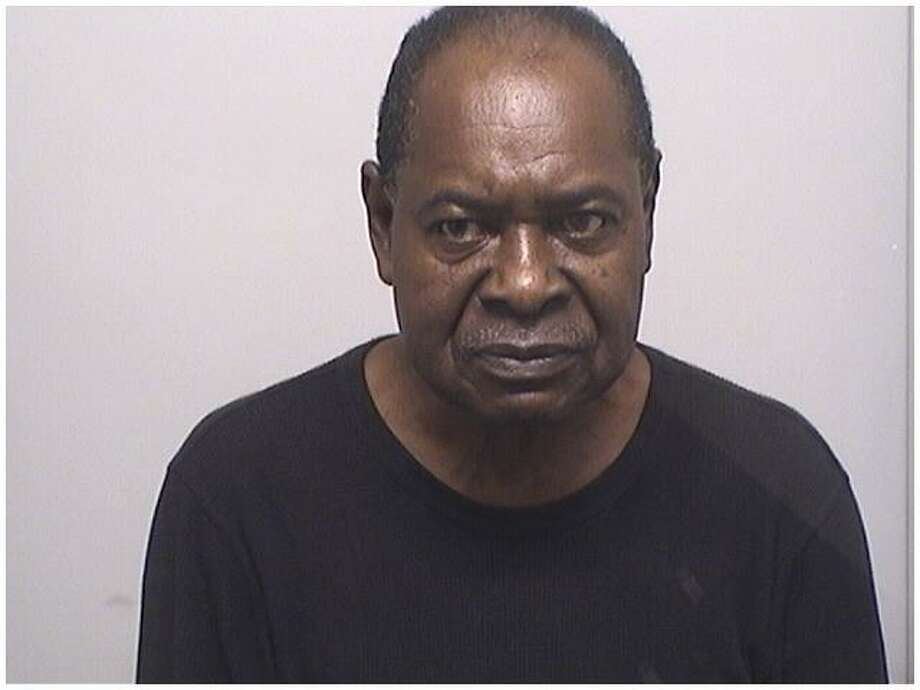 "Frankie ""Blue"" Moore, 68, was caught by police with 76 folds of the deadly opioid Fentanyl on Thursday. Photo: Stamford Police Department / Contributed"
