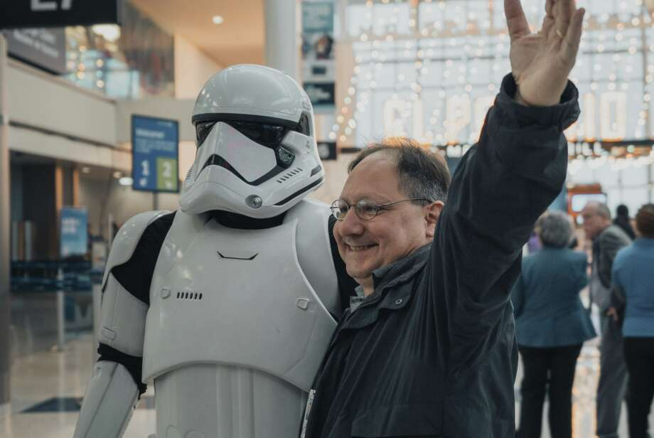 United Airlines partnership to promote the release of Star Wars: The Rise of Skywalker, includes an event a Houston Intercontinental Airport, a special plane and other activities Photo: United Airlines