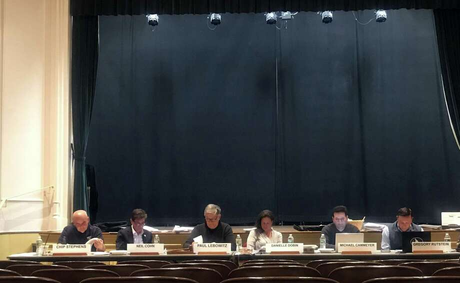 The Planning and Zoning Commission. Taken Nov. 7, 2019 in Westport, Conn. Photo: DJ Simmons/Hearst Connecticut Media