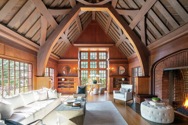 A 1916 Tudor-inspired home at 270 Castenada in San Francisco's Forest Hill neighborhood was designed by legendary architect Bernard Maybeck.