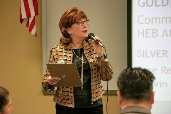 Deborah Rose-Miller, owner of Rose Realty and Atascocita BizCom chair, led the last Atascocita BizCom of the year.