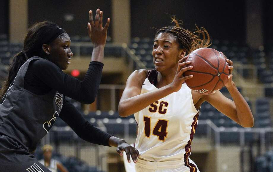PHOTOS: All-Greater Houston preseason teams  Summer Creek's Maliyah Johnson, right, drives to the basket as Westside's Fatou Samb defends during the first half of a 6A regional championship basketball game, Saturday, Feb. 23, 2019, in Katy, TX. >>>See which players made the cut on the All-Greater Houston preseason first and second teams ...  Photo: Eric Christian Smith/Contributor