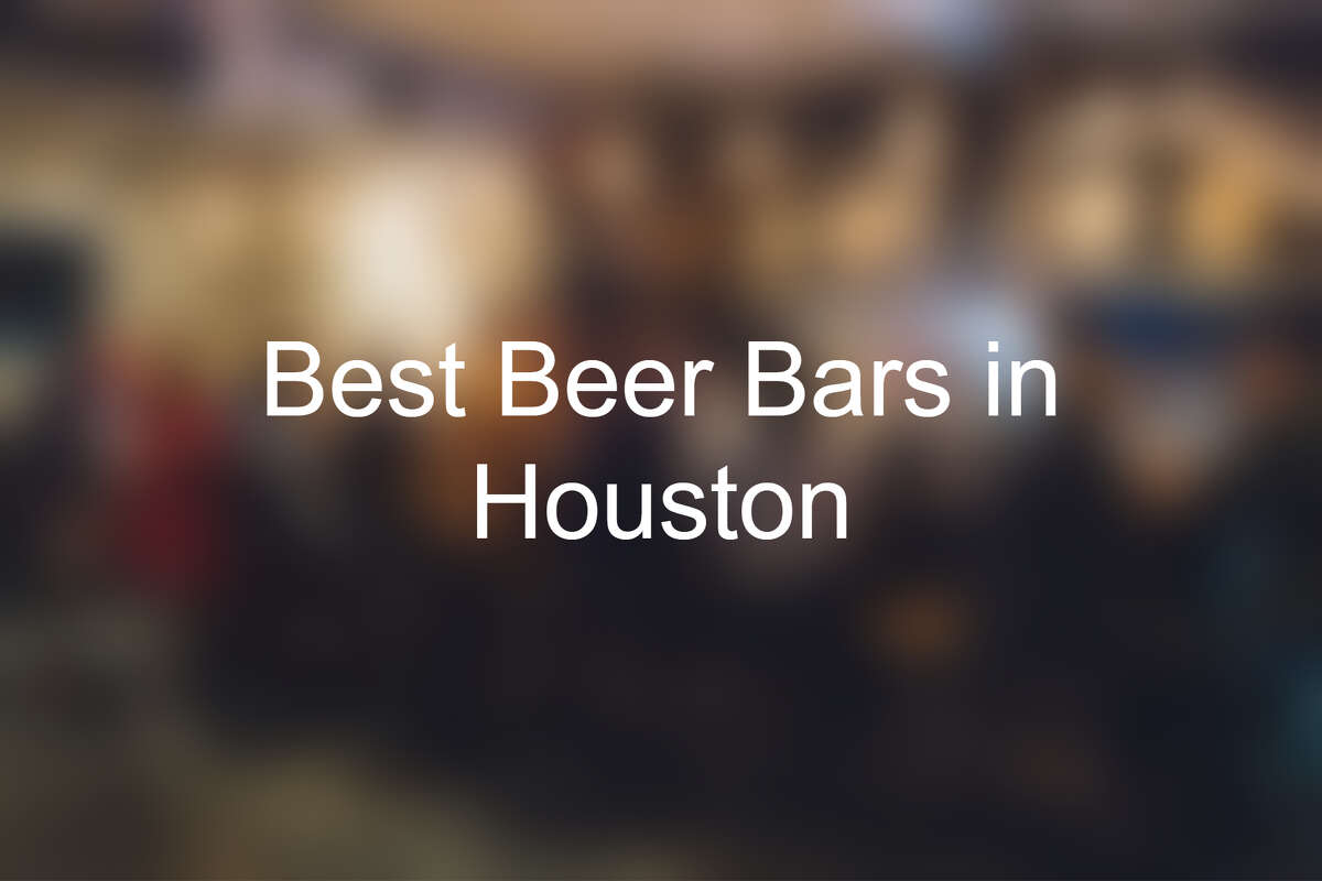 Click through to see the best beer bars in Houston